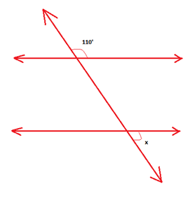 Angles, parallel lines and transversals (Geometry, Perpendicular ...