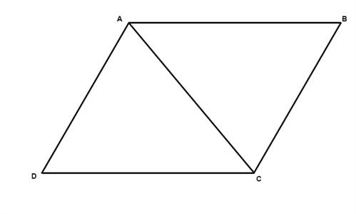 properties of parallelograms geometry quadrilaterals mathplanet. Black Bedroom Furniture Sets. Home Design Ideas